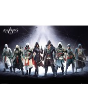 Макси плакат GB Eye Assassin's Creed - Characters