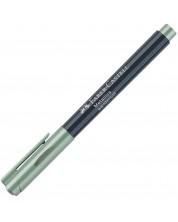 Маркер Faber-Castell - 1.5 mm, светлозелен металик -1