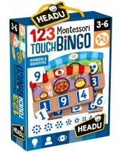 Забавна игра Headu Montessori - Малък пазар, игра на бинго -1