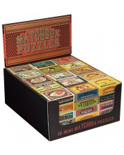 Логически пъзели Professor Puzzle – Кибритени кутийки -1