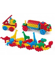 Детски конструктор с вафлени блокчета от 150 части