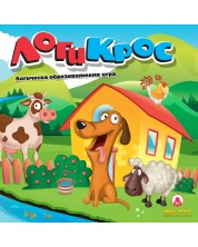 Детска игра MBG Toys - Логи Крос -1