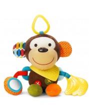Мека играчка Skip Hop - Маймунка, с гризалка