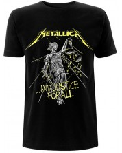 Тениска Rock Off Metallica - And Justice For - All Tracks