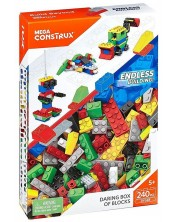 Конструктор Mega Construx Building Bricks - Daring Box, 240 части