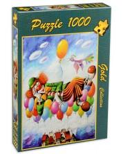 Пъзел Gold Puzzle от 1000 части - Мечтата на клоуна