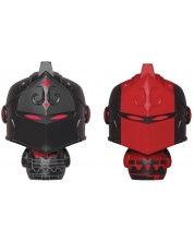 Мини фигури Funko Pint Size Heroes 2-Pack: Fortnite - Black Knight & Red Knight