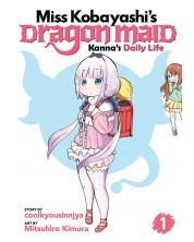 Miss Kobayashi's Dragon Maid, Kanna's Daily Life: Vol. 1 -1
