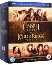 Middle Earth - Six Film Theatrical Version (Blu-Ray) -1