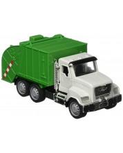 Детска играчка Battat Driven - Камион за рециклиране, със звук и светлини