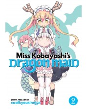 Miss Kobayashi's Dragon Maid, Vol. 2 -1
