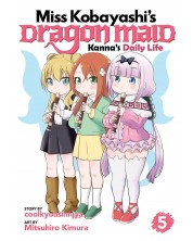 Miss Kobayashi's Dragon Maid, Kanna's Daily Life: Vol. 5 -1