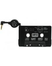MP3 адаптер за касетофон Cellularline - черен -1