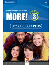 More! Level 3 Presentation Plus DVD-ROM -1