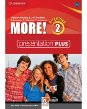 More! Level 2 Presentation Plus DVD-ROM