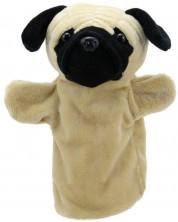 Кукла-ръкавица The Puppet Company Приятели - Куче Мопс -1
