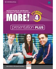 More! Level 4 Presentation Plus DVD-ROM -1