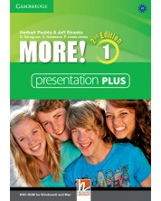 More! Level 1 Presentation Plus DVD-ROM -1