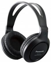 Слушалки Panasonic RP-HT161E-K, Over-Ear - черни