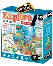 Забавна игра Headu - Играй и опознай, Морски свят -1