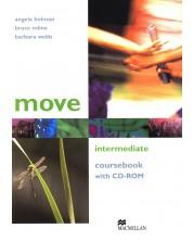 Move Intermediate: Coursebook with CD-ROM / Английски език (Учебник + CD-ROM)