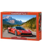 Пъзел Castorland от 500 части - Планинско шофиране