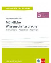 Mundliche Wissenschaftssprache Lehr- und Arbeitsbuch C1-C2 -1