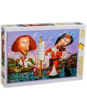 Пъзел Gold Puzzle от 1000 части - Музикален портрет