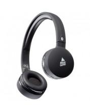 Безжични слушалки Music Sound - черни