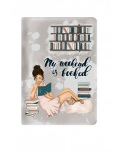 Текстилен калъф за Kindle Paperwhite With Scent of Books - My weekend is booked