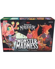 Настолна игра D&D Dungeon Mayhem: Monster Madness - картова