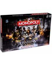 Настолна игра Hasbro Monopoly - Assassins's Creed Syndicate