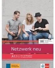 Netzwerk neu A1.1, Kurs- und Ubungsbuch mit Audios und Videos -1