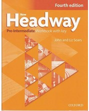 New Headway  Pre-Intermediate Workbook with Key 4th edition -1