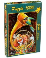 Пъзел Gold Puzzle от 1000 части - Неквалифициран музикант -1