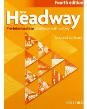 New Headway 4E Pre-Intermediate Workbook without Key 4th edition -1