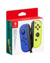 Nintendo Switch Joy-Con (комплект контролери) синьо/жълто -1