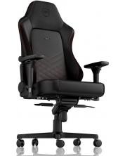 Гейминг стол noblechairs HERO - черен/червен -1