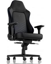 Гейминг стол noblechairs HERO - черен/син -1