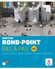 Nouveau Rond-Point pas à pas Libro del alumno + Cuaderno de actividades + CD A2
