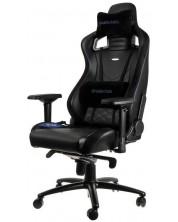 Гейминг стол noblechairs EPIC - черен/син