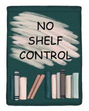 Текстилен джоб за електронна книга  With Scent of Books - No shelf control -1