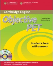 Objective PET Self-study Pack (Student's Book with answers with CD-ROM and Audio CDs(3))