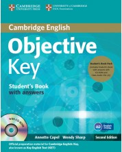 Objective Key Student's Book Pack (Student's Book with Answers with CD-ROM and Class Audio CDs(2)