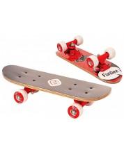 Детски мини скейтборд D'Arpeje - Червен, 43 cm