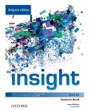 Английски език за 8. клас Insight Bulgaria ED A2 (Regular) SB 36931