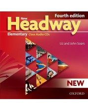 Headway, 4th Edition Elementary: Class Audio CDs (3) 9075 -1