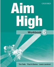 Aim High: 6 Workbook Pack.Тетрадка английски език 9 - 12. клас -1