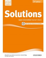 Solutions 2E Upper-Intermediate Teacher's Book & CD-ROM Pack -1