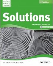Тетрадка по английски език Solutions 2E Elementary WB & CD Pack -1